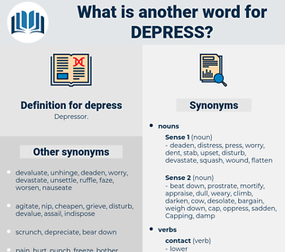 depress, synonym depress, another word for depress, words like depress, thesaurus depress