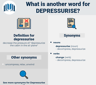 depressurise, synonym depressurise, another word for depressurise, words like depressurise, thesaurus depressurise