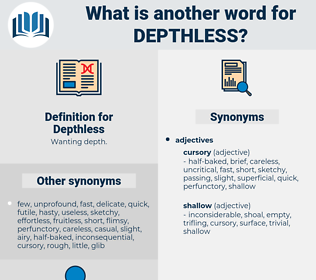 Depthless, synonym Depthless, another word for Depthless, words like Depthless, thesaurus Depthless