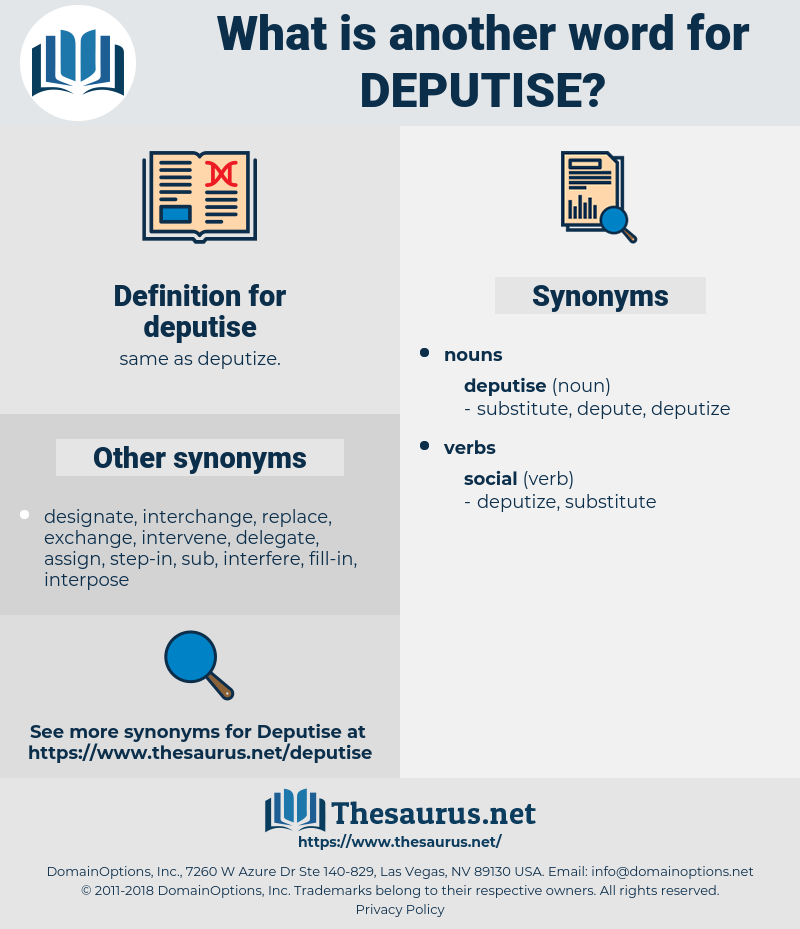 deputise, synonym deputise, another word for deputise, words like deputise, thesaurus deputise