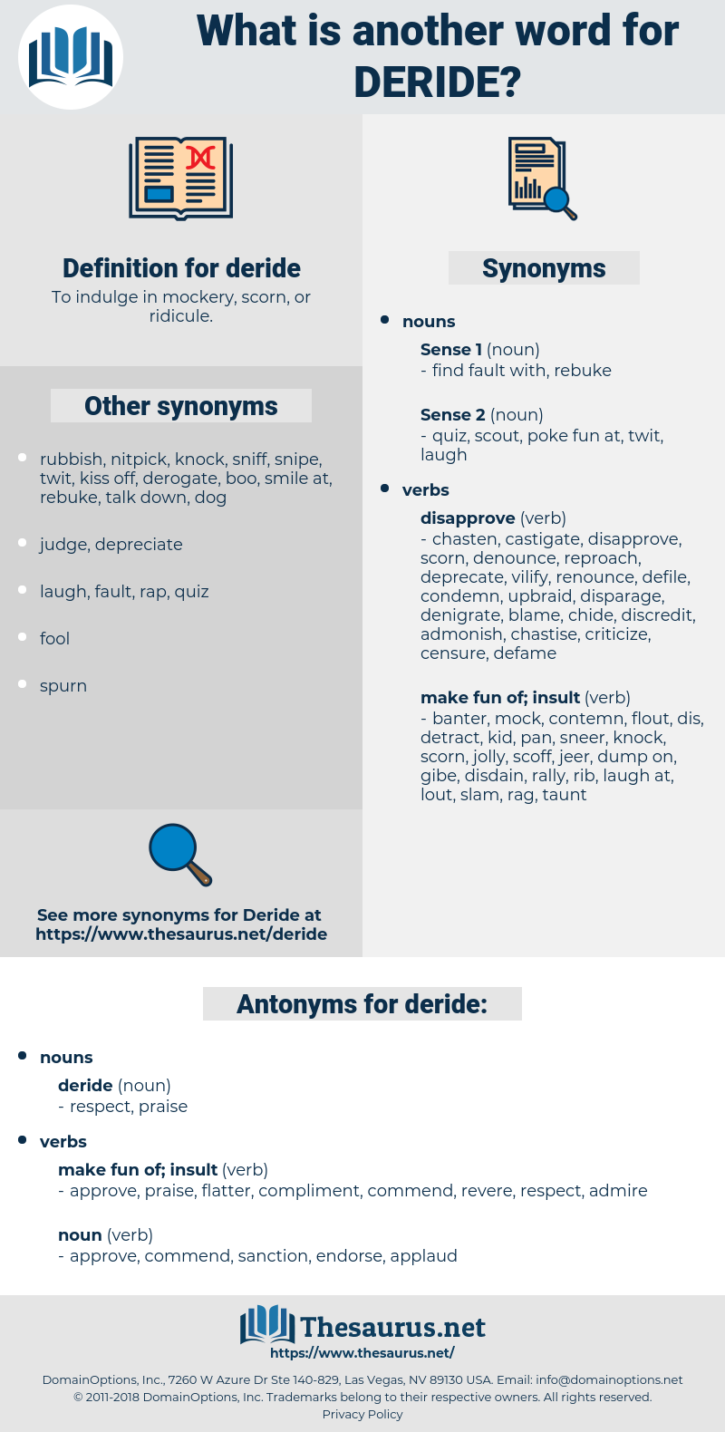 deride, synonym deride, another word for deride, words like deride, thesaurus deride