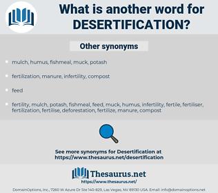 desertification, synonym desertification, another word for desertification, words like desertification, thesaurus desertification