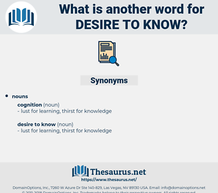 desire to know, synonym desire to know, another word for desire to know, words like desire to know, thesaurus desire to know