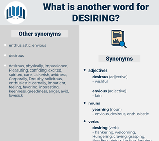 Desiring, synonym Desiring, another word for Desiring, words like Desiring, thesaurus Desiring