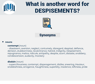 despisements, synonym despisements, another word for despisements, words like despisements, thesaurus despisements