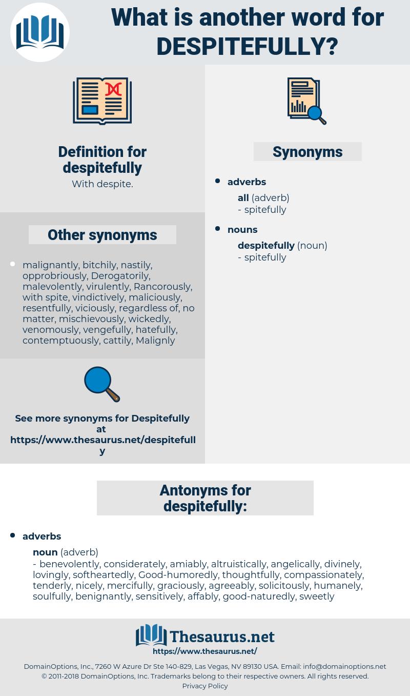 despitefully, synonym despitefully, another word for despitefully, words like despitefully, thesaurus despitefully