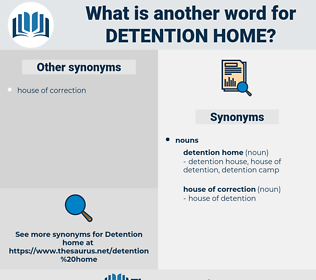 detention home, synonym detention home, another word for detention home, words like detention home, thesaurus detention home