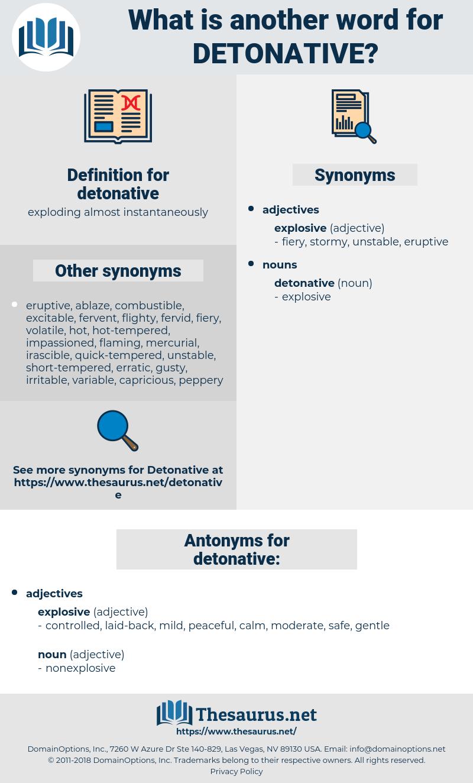 detonative, synonym detonative, another word for detonative, words like detonative, thesaurus detonative