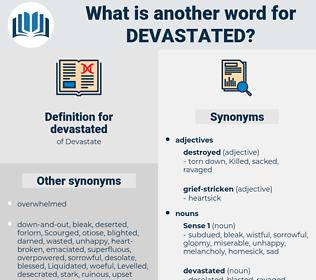 devastated, synonym devastated, another word for devastated, words like devastated, thesaurus devastated