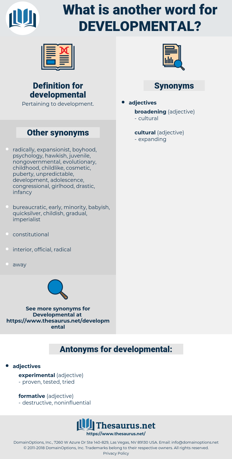 developmental, synonym developmental, another word for developmental, words like developmental, thesaurus developmental