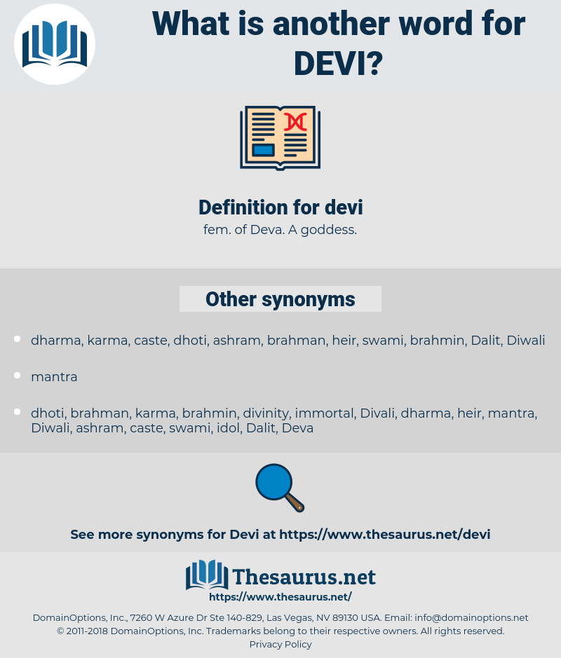 devi, synonym devi, another word for devi, words like devi, thesaurus devi