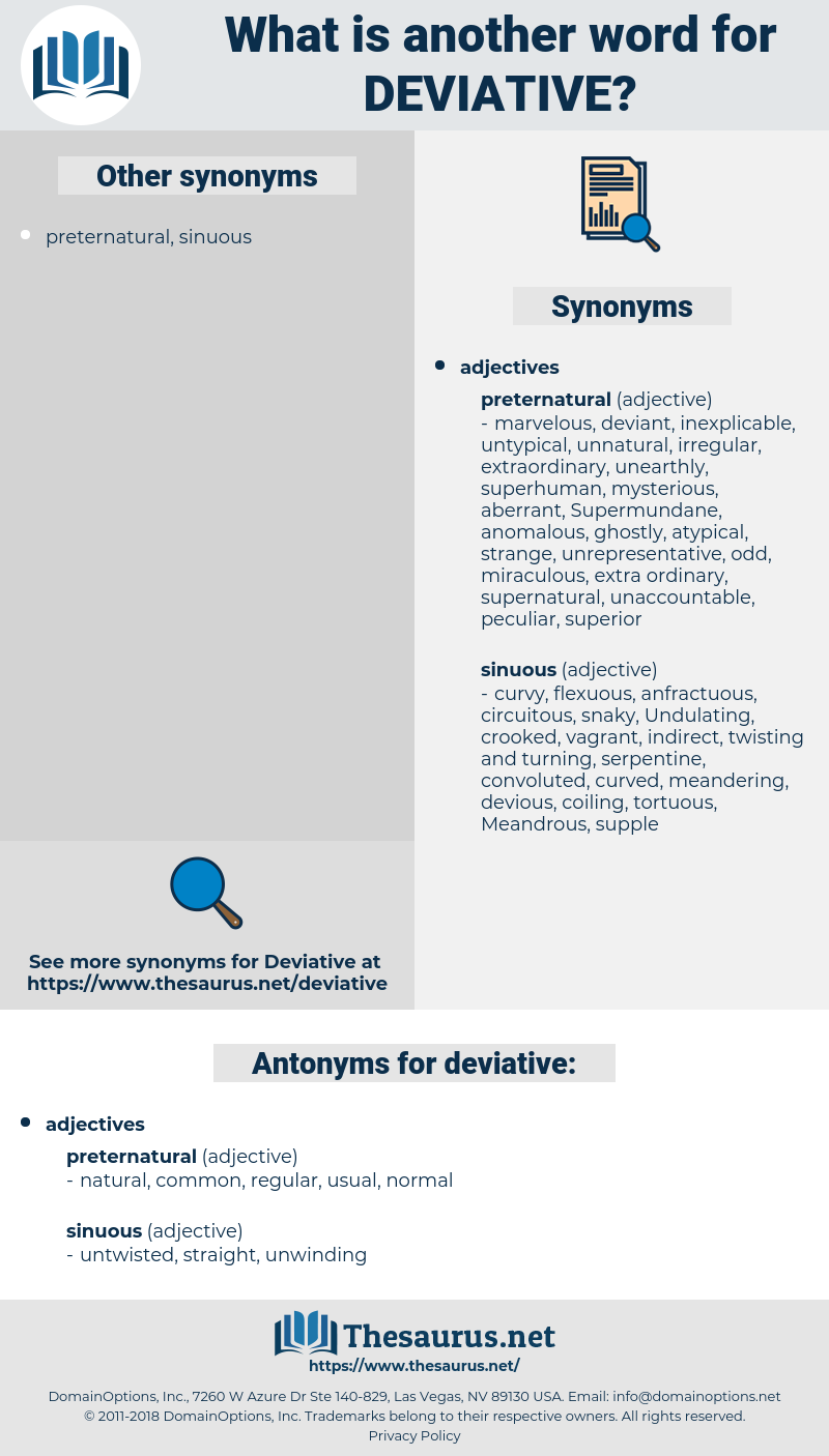 deviative, synonym deviative, another word for deviative, words like deviative, thesaurus deviative