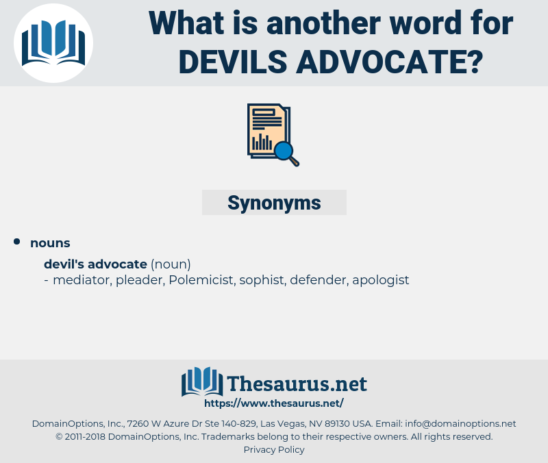 devils-advocate, synonym devils-advocate, another word for devils-advocate, words like devils-advocate, thesaurus devils-advocate