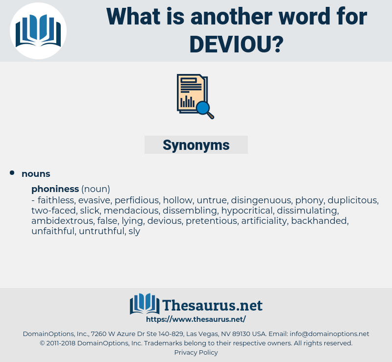 deviou, synonym deviou, another word for deviou, words like deviou, thesaurus deviou