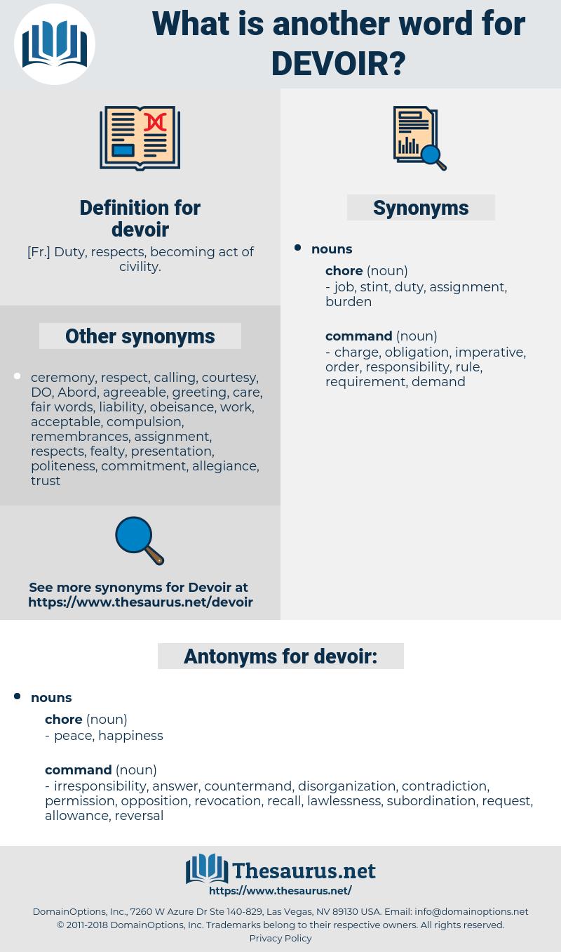 devoir, synonym devoir, another word for devoir, words like devoir, thesaurus devoir