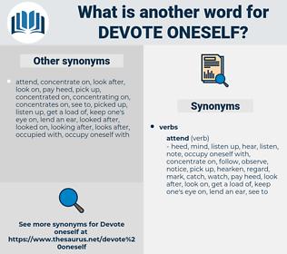 devote oneself, synonym devote oneself, another word for devote oneself, words like devote oneself, thesaurus devote oneself