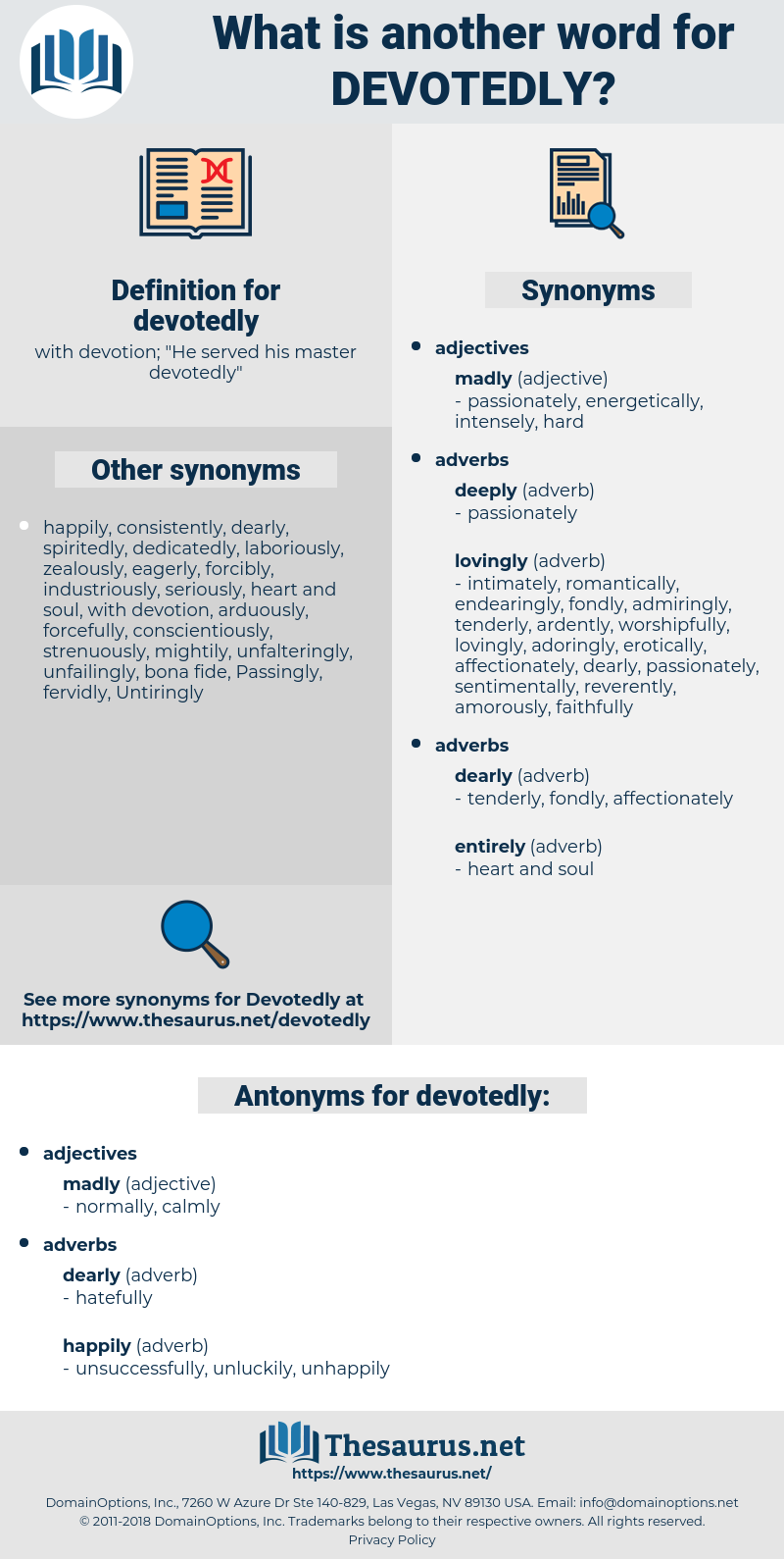 devotedly, synonym devotedly, another word for devotedly, words like devotedly, thesaurus devotedly
