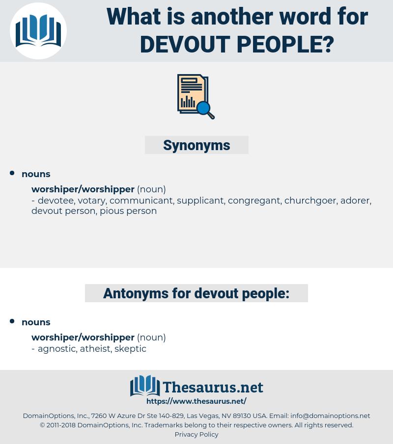 devout people, synonym devout people, another word for devout people, words like devout people, thesaurus devout people