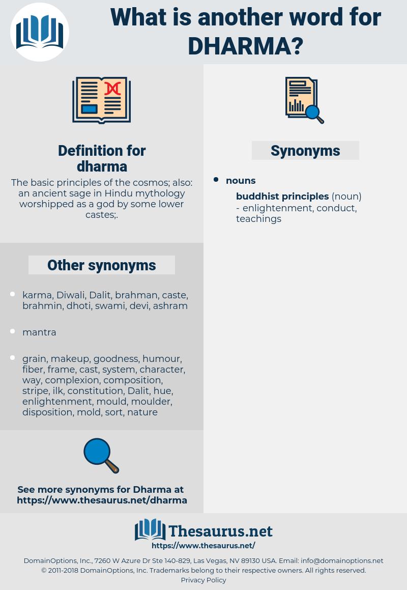 dharma, synonym dharma, another word for dharma, words like dharma, thesaurus dharma