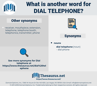 dial telephone, synonym dial telephone, another word for dial telephone, words like dial telephone, thesaurus dial telephone