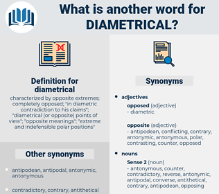 diametrical, synonym diametrical, another word for diametrical, words like diametrical, thesaurus diametrical