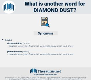 diamond dust, synonym diamond dust, another word for diamond dust, words like diamond dust, thesaurus diamond dust