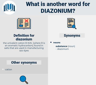diazonium, synonym diazonium, another word for diazonium, words like diazonium, thesaurus diazonium
