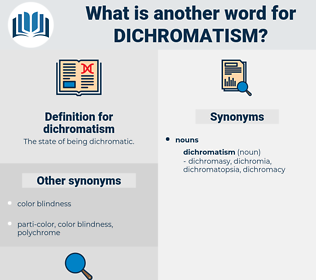 dichromatism, synonym dichromatism, another word for dichromatism, words like dichromatism, thesaurus dichromatism