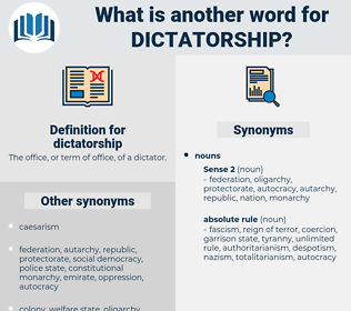 dictatorship, synonym dictatorship, another word for dictatorship, words like dictatorship, thesaurus dictatorship