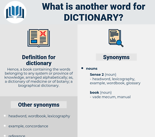 dictionary, synonym dictionary, another word for dictionary, words like dictionary, thesaurus dictionary