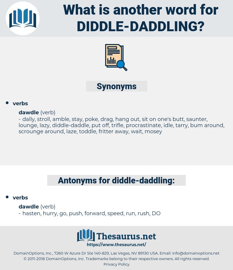 diddle daddling, synonym diddle daddling, another word for diddle daddling, words like diddle daddling, thesaurus diddle daddling