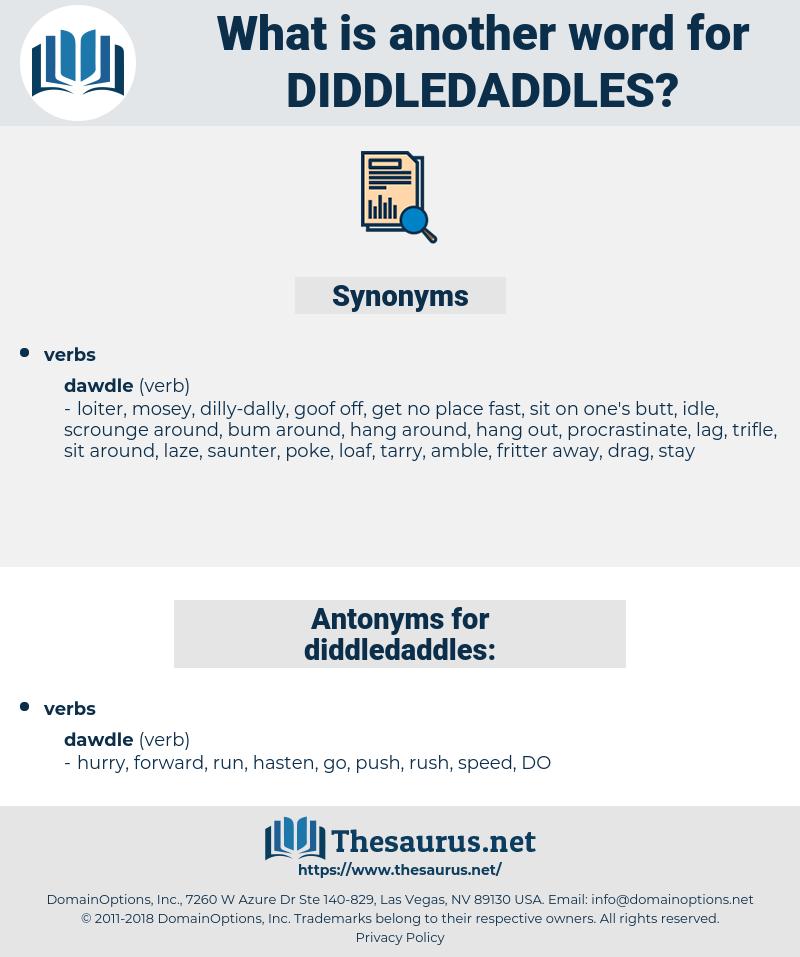 diddledaddles, synonym diddledaddles, another word for diddledaddles, words like diddledaddles, thesaurus diddledaddles