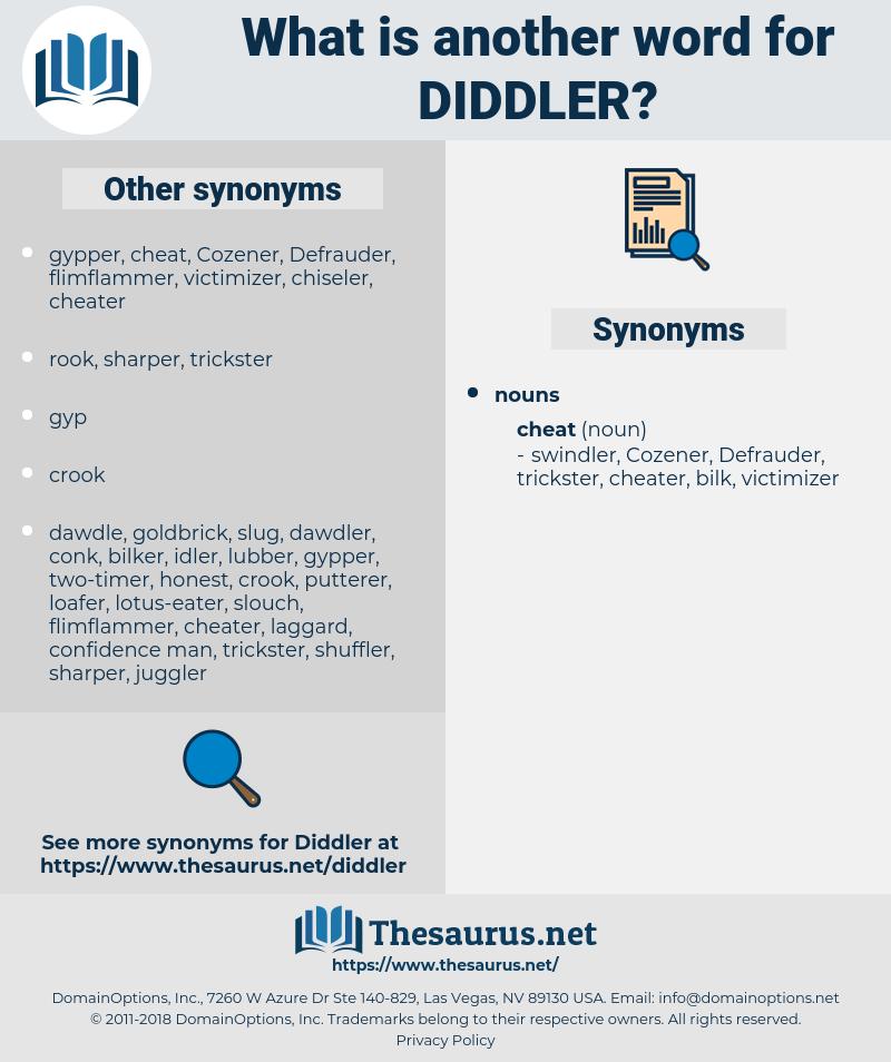 Diddler, synonym Diddler, another word for Diddler, words like Diddler, thesaurus Diddler