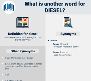 diesel, synonym diesel, another word for diesel, words like diesel, thesaurus diesel