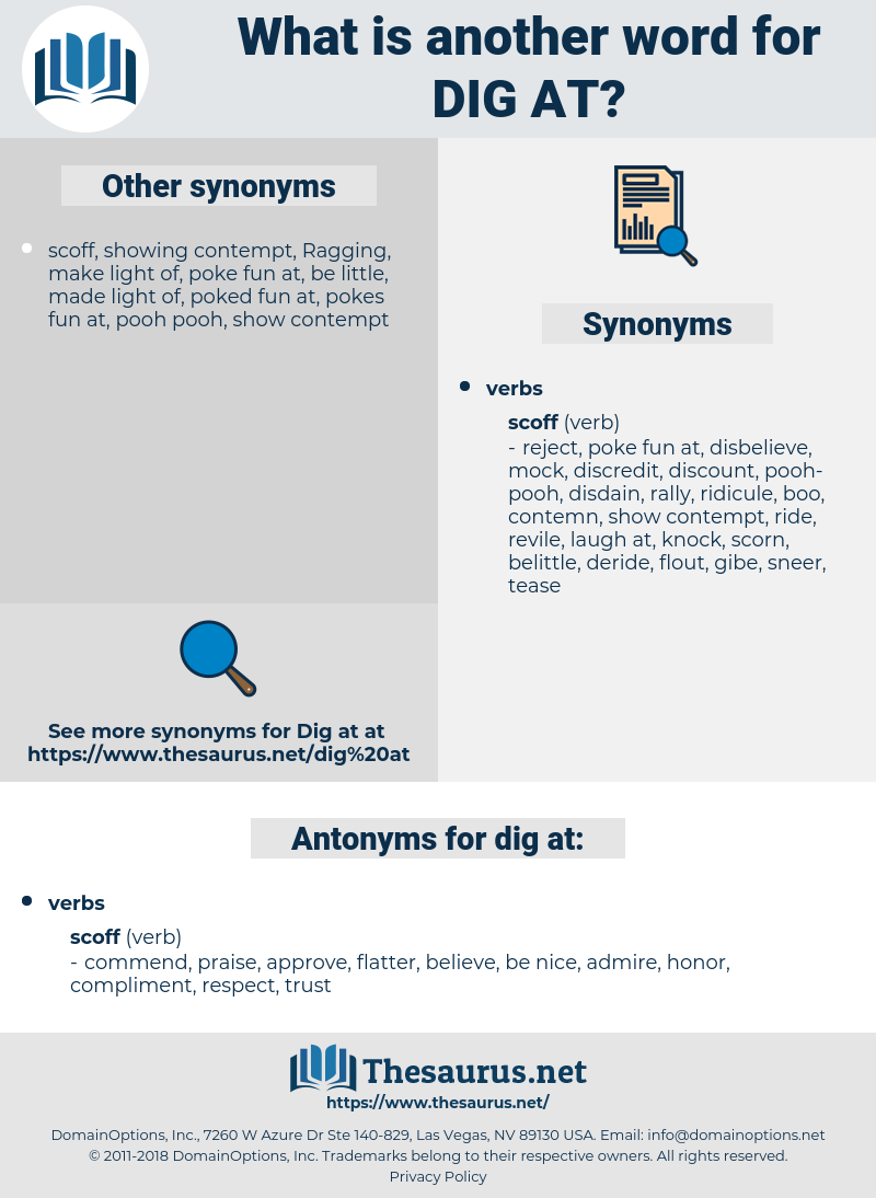 dig at, synonym dig at, another word for dig at, words like dig at, thesaurus dig at