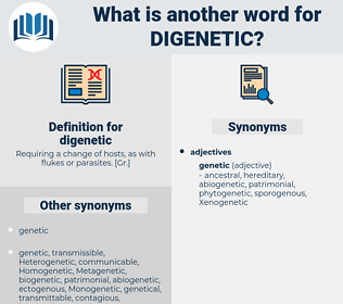 digenetic, synonym digenetic, another word for digenetic, words like digenetic, thesaurus digenetic