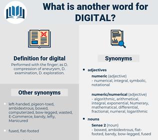 digital, synonym digital, another word for digital, words like digital, thesaurus digital