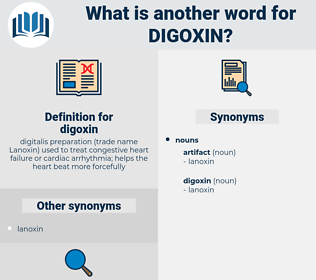 digoxin, synonym digoxin, another word for digoxin, words like digoxin, thesaurus digoxin