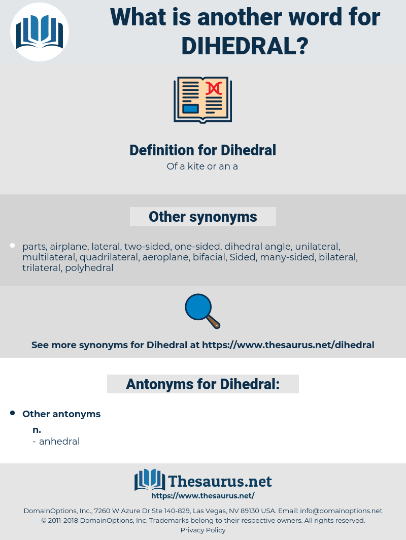 Dihedral, synonym Dihedral, another word for Dihedral, words like Dihedral, thesaurus Dihedral