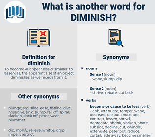 diminish, synonym diminish, another word for diminish, words like diminish, thesaurus diminish