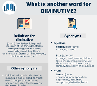 diminutive, synonym diminutive, another word for diminutive, words like diminutive, thesaurus diminutive