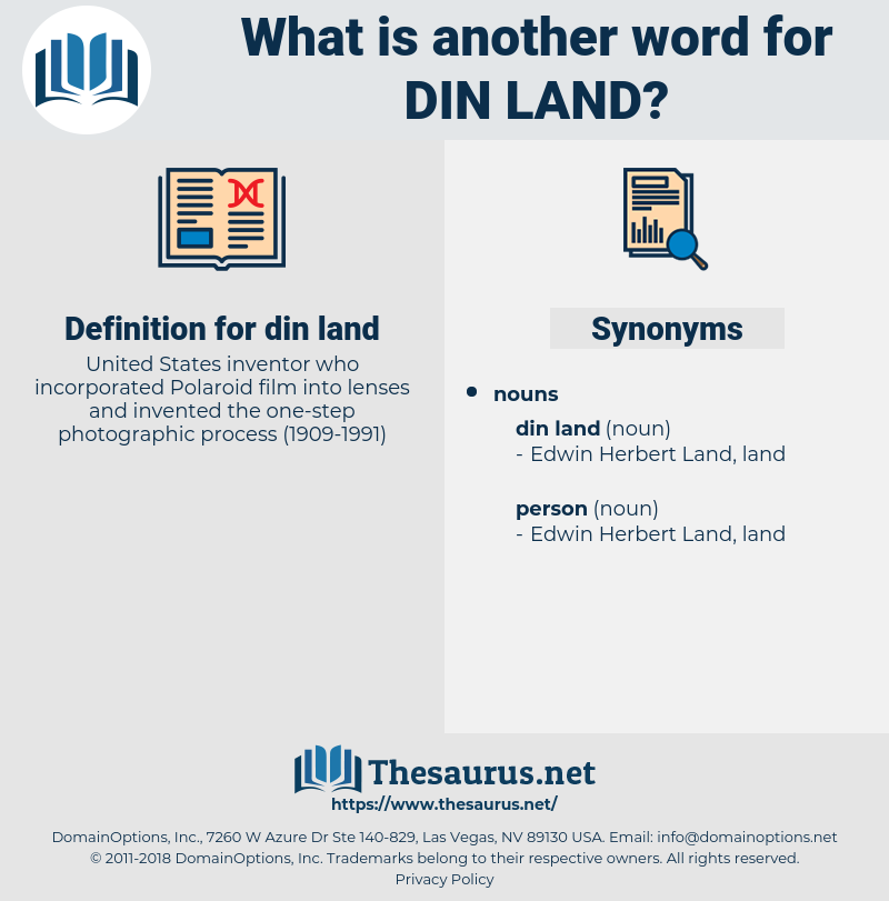 din land, synonym din land, another word for din land, words like din land, thesaurus din land