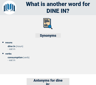 dine in, synonym dine in, another word for dine in, words like dine in, thesaurus dine in