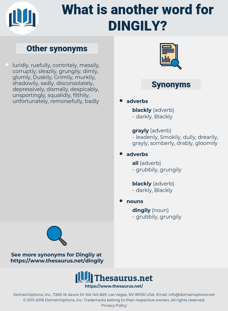 dingily, synonym dingily, another word for dingily, words like dingily, thesaurus dingily
