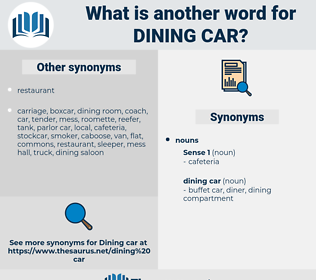 dining car, synonym dining car, another word for dining car, words like dining car, thesaurus dining car