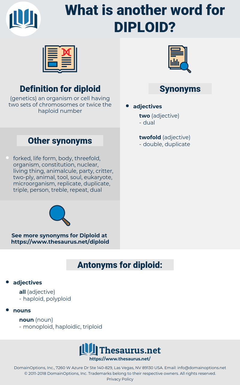 diploid, synonym diploid, another word for diploid, words like diploid, thesaurus diploid