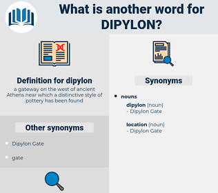 dipylon, synonym dipylon, another word for dipylon, words like dipylon, thesaurus dipylon