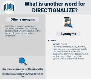 directionalize, synonym directionalize, another word for directionalize, words like directionalize, thesaurus directionalize
