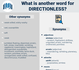 directionless, synonym directionless, another word for directionless, words like directionless, thesaurus directionless
