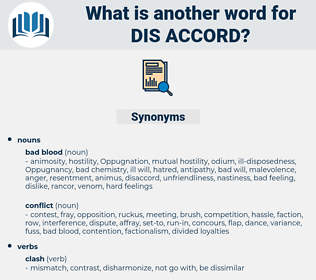 dis accord, synonym dis accord, another word for dis accord, words like dis accord, thesaurus dis accord